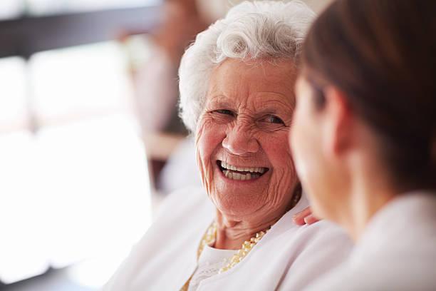 Smiling elderly woman and female nurse picture id187246168?b=1&k=6&m=187246168&s=612x612&w=0&h=wnpzaozyig4dqdfol 0nigrs84tmjxg9w3nrb9ogq5a=