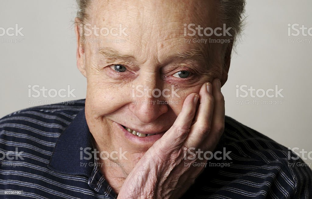 Smiling Father stock photo