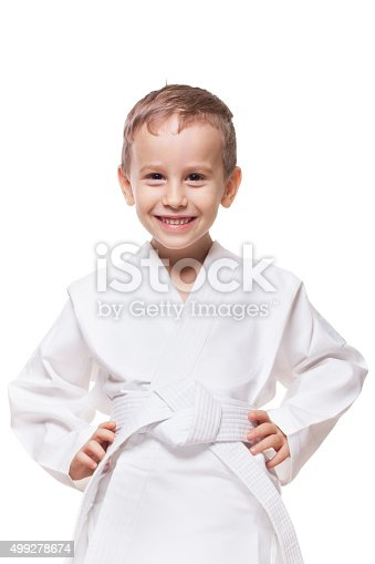 istock Smiling fighter 499278674