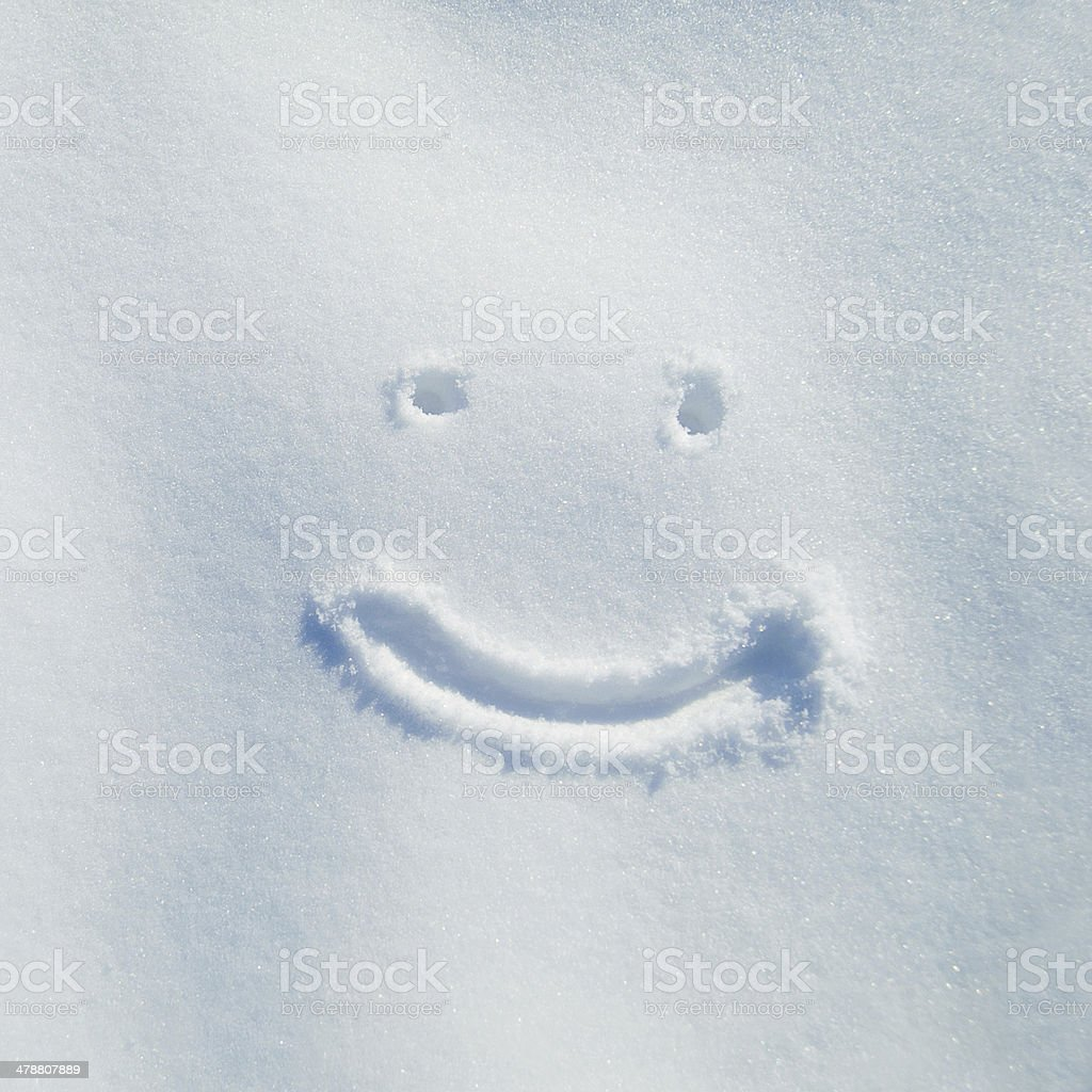 Smiling for snow day! stock photo