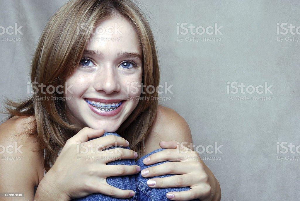 Smiling Girl - Royalty-free Adolescence Stock Photo