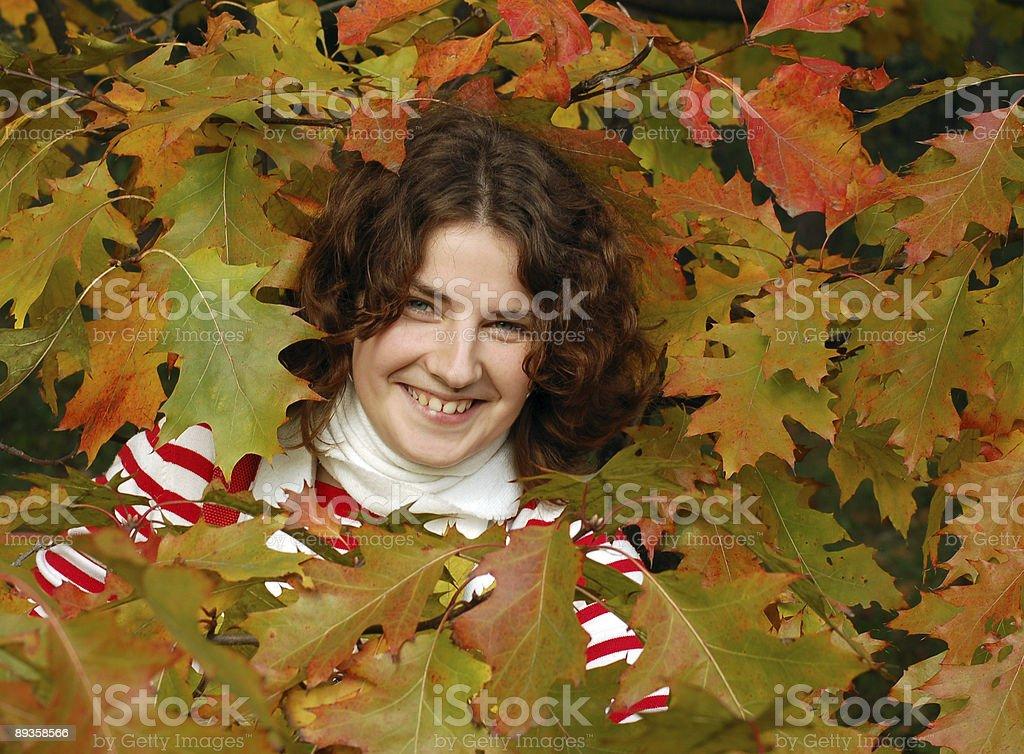 Smiling  girl royalty free stockfoto