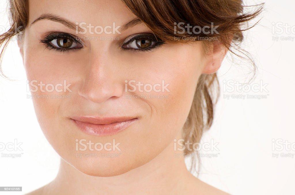 smiling girl royalty-free stock photo