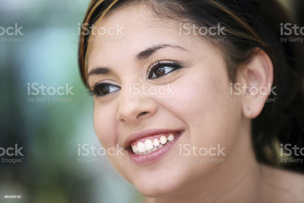 Smiling girl - Royalty-free Adult Stock Photo