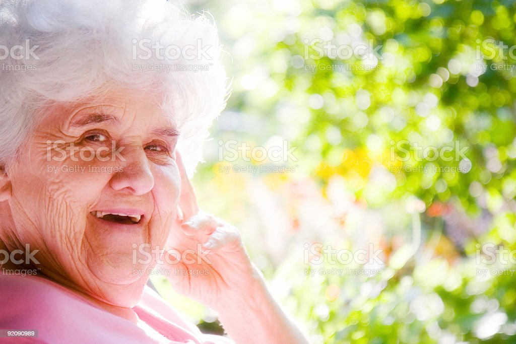 Smiling GrandMother royalty-free stock photo