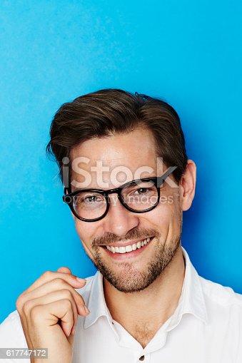 649754038 istock photo Smiling happy guy 617747172