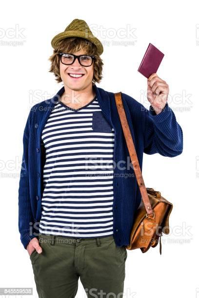 Smiling hipster holding a leather wallet picture id845559538?b=1&k=6&m=845559538&s=612x612&h=v 9czkmeqwjeb79iwkt3zbyzcvgxxtnxglaeubtm o0=