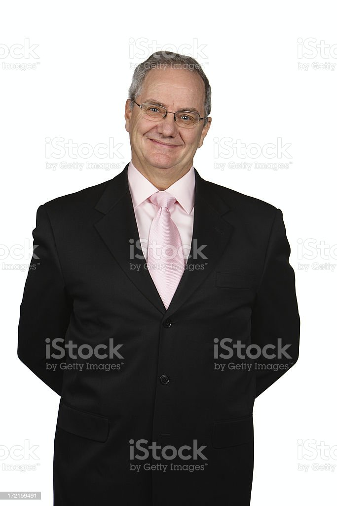 Smiling in Suit royalty-free stock photo