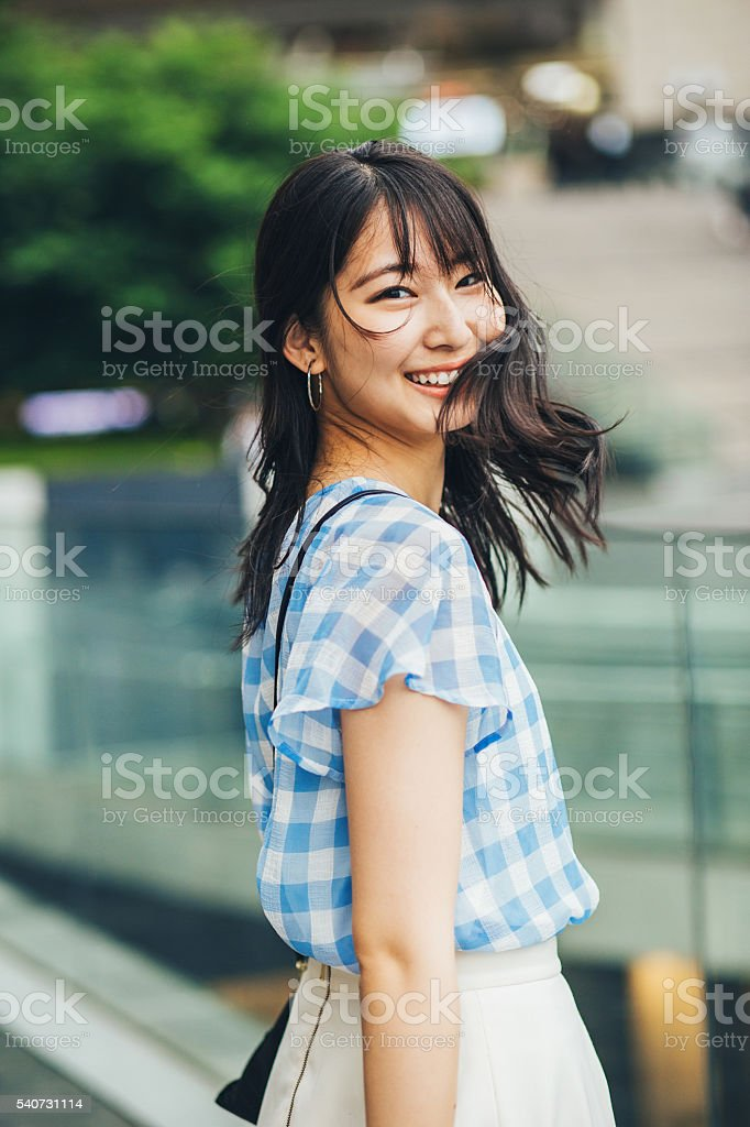 japanese girl look