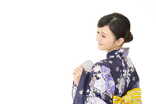 笑顔の女性 - 七夕の写真 ストックフォトと画像