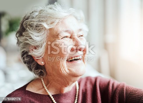 istock Smiling keeps the soul young 1076490174