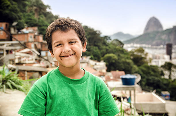 미소 어린이 - 남미 문화 뉴스 사진 이미지
