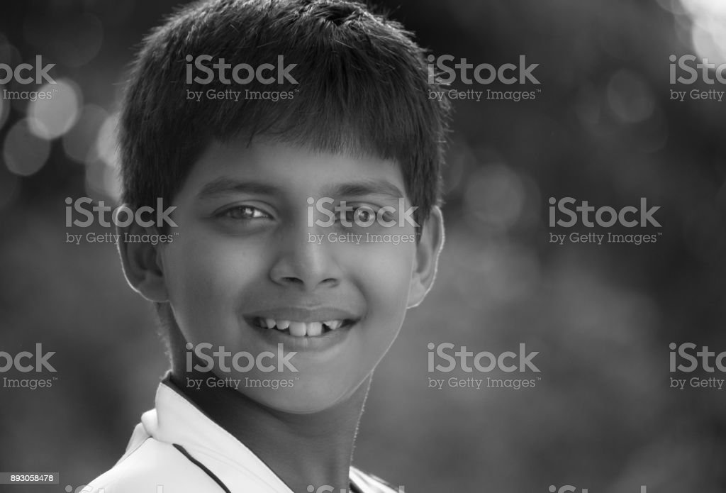 Smiling Kid stock photo