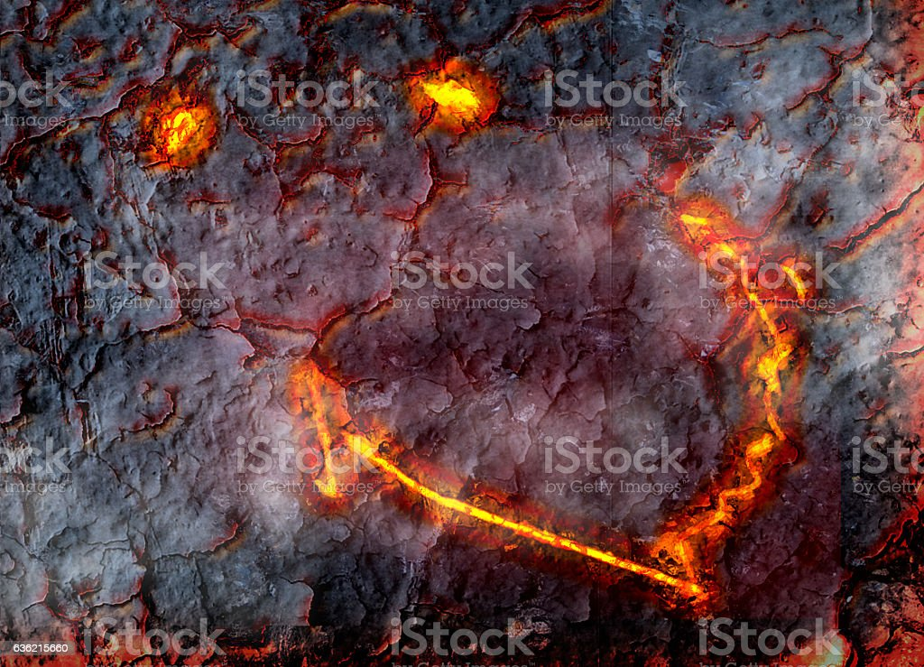 Smiling Kilauea Hawaii stock photo