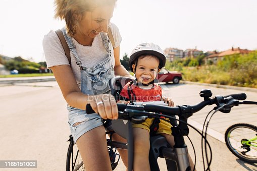 istock Smiling little cycler 1165151009