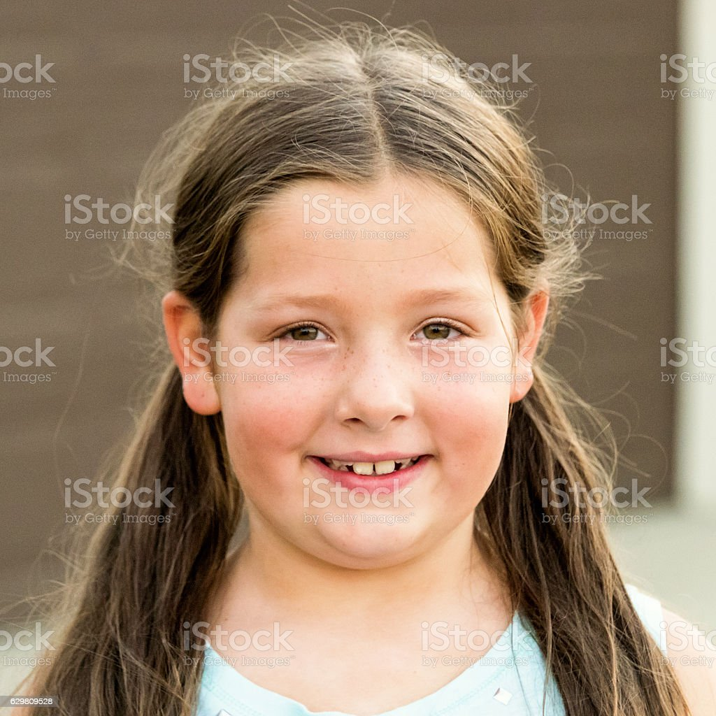 Smiling Little Girl Stock Photo - Download Image Now - Istock-6840