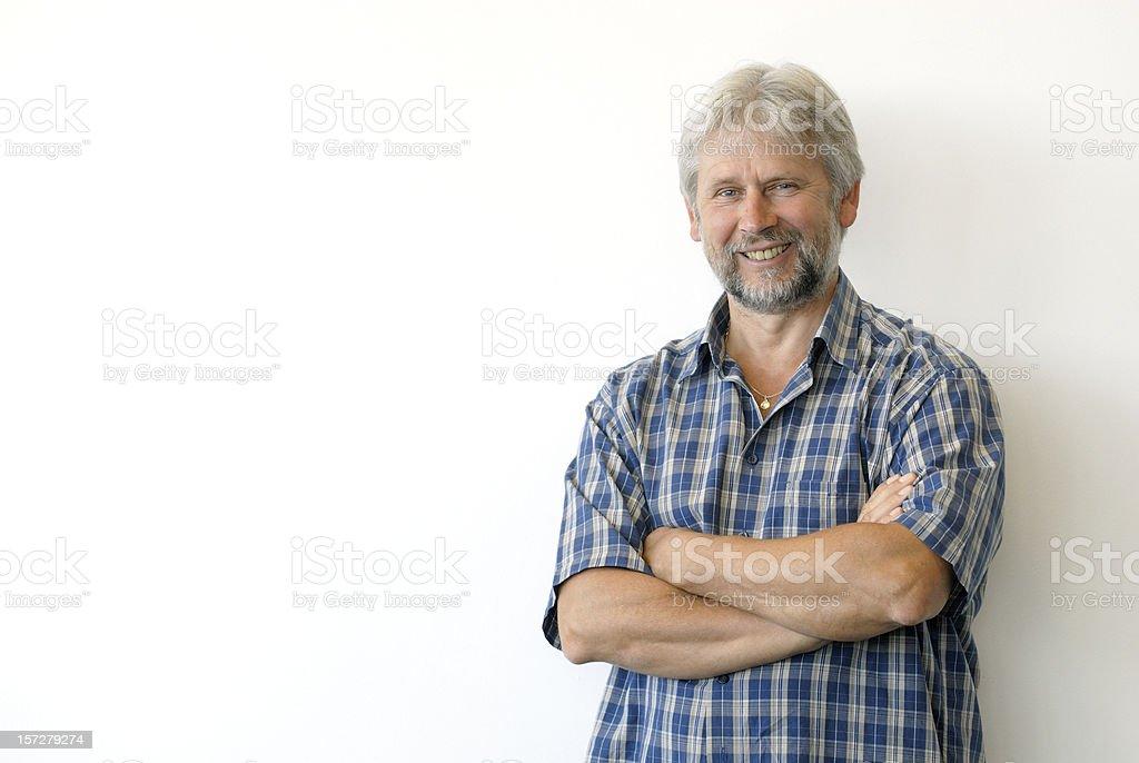 smiling man  Adult Stock Photo