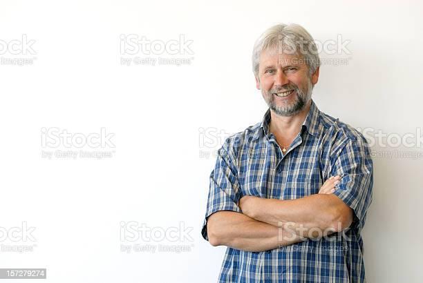 Smiling Man Stock Photo - Download Image Now
