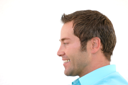 834639402 istock photo smiling man profile 157278420