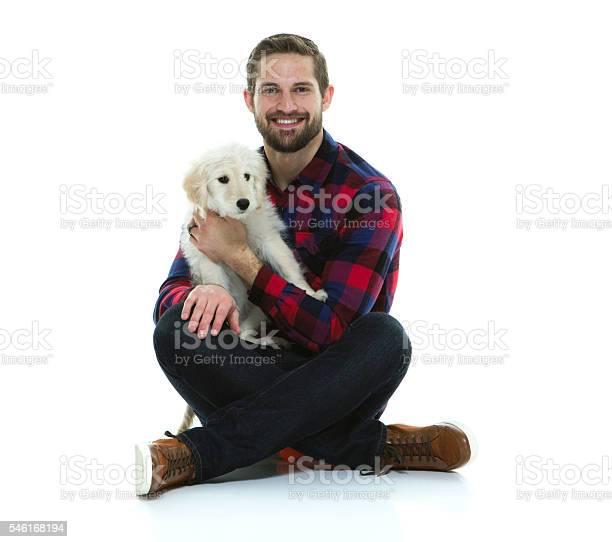 Smiling man sitting with his dog picture id546168194?b=1&k=6&m=546168194&s=612x612&h=rnefi7juwfhyyo0glxez0pzbl3j5z2t4 wg3kbylyfu=