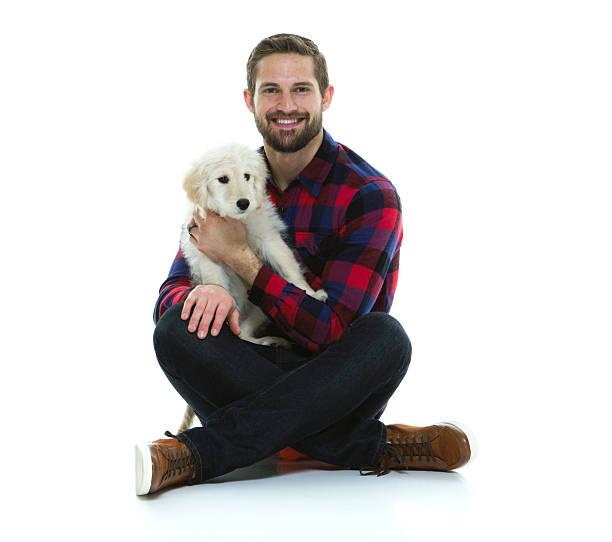 Smiling man sitting with his dog picture id546168194?b=1&k=6&m=546168194&s=612x612&w=0&h=adl8movba8v68tkn2hhpv9otm59q0mjbjzvcovazizi=
