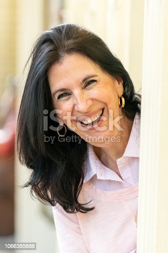 825083310 istock photo Smiling mature woman looking at the camera 1066385888