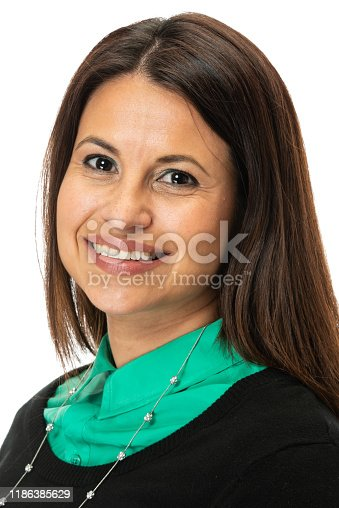1132314350 istock photo Smiling mature woman looking at the camera 1186385629