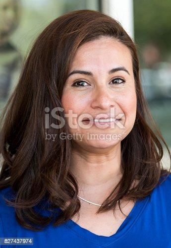 825083310 istock photo Smiling mature woman 827437974