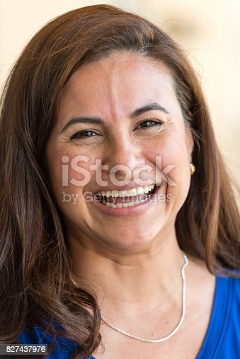 825083310 istock photo Smiling mature woman 827437976