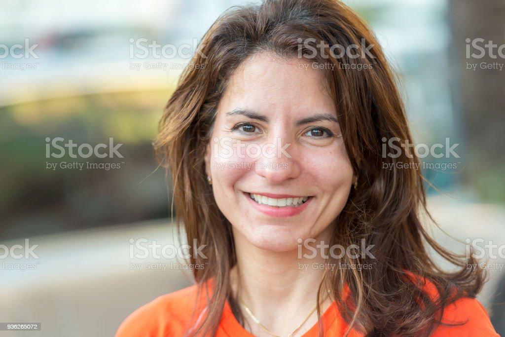 Lächelnd Ältere Frau – Foto