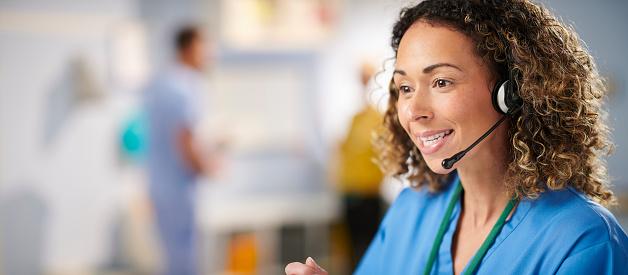 medical hotline call centre