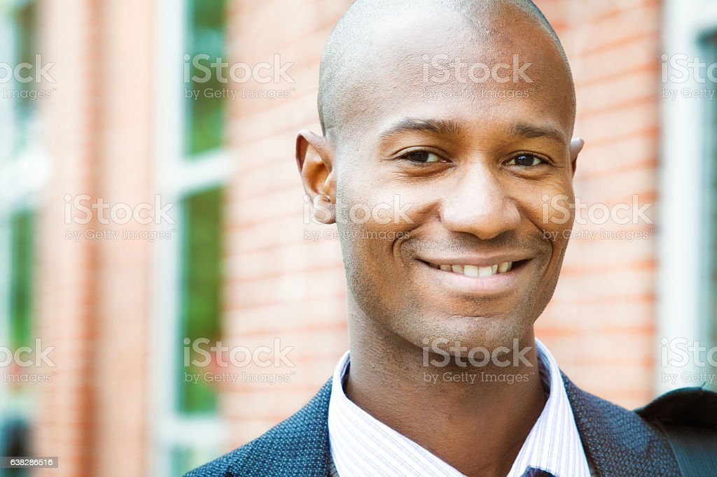Middle aged black man