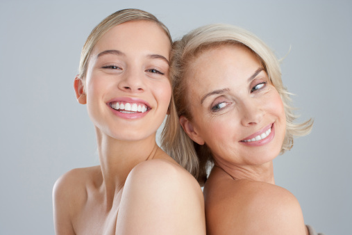 Mother daughter nude