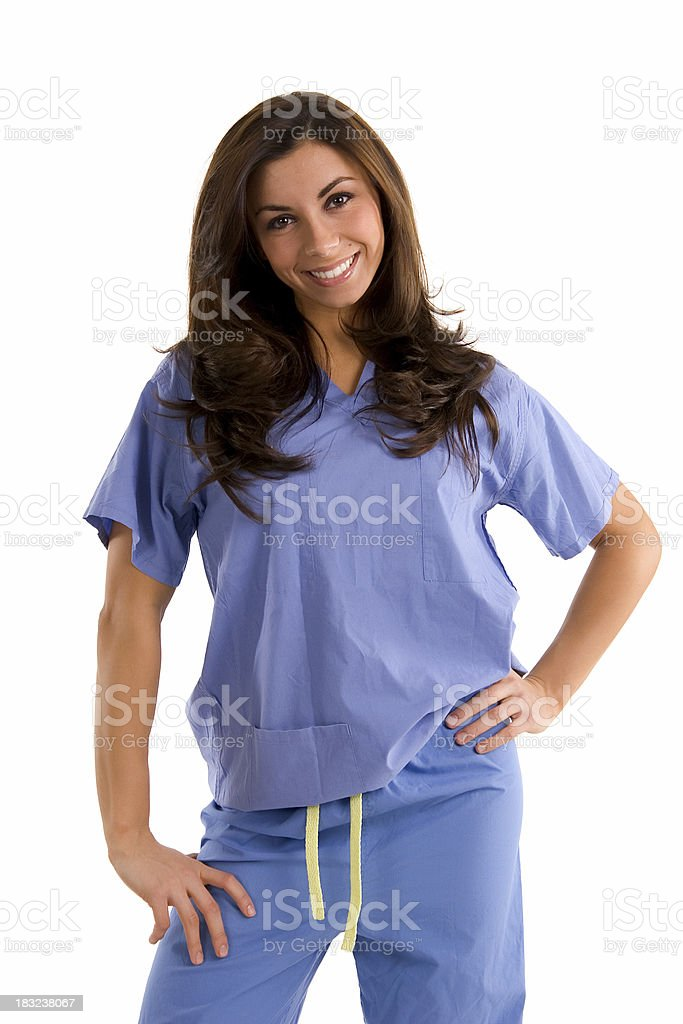 Sexy Smiling Nurse Portrait Stock Photos, Images
