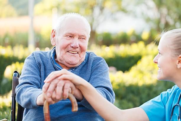 Lächelnd Patienten – Foto