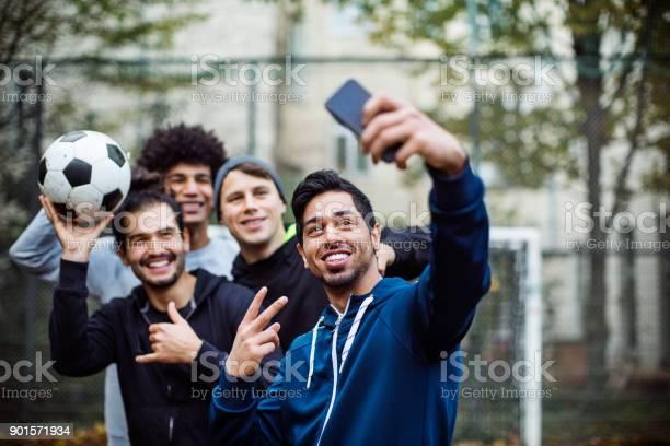Smiling players taking selfie through mobile phone picture id901571934?b=1&k=6&m=901571934&s=612x612&h=rkjqxsuhvxpbgae0qsifdt8w8uyvzqdekuucnm 0xks=