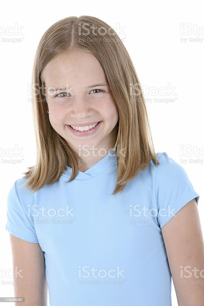 Smiling Portrait royalty-free stock photo