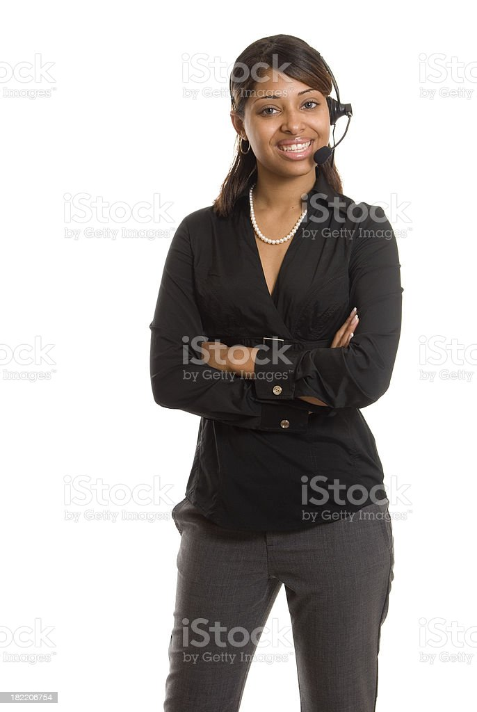 Smiling Rep royalty-free stock photo
