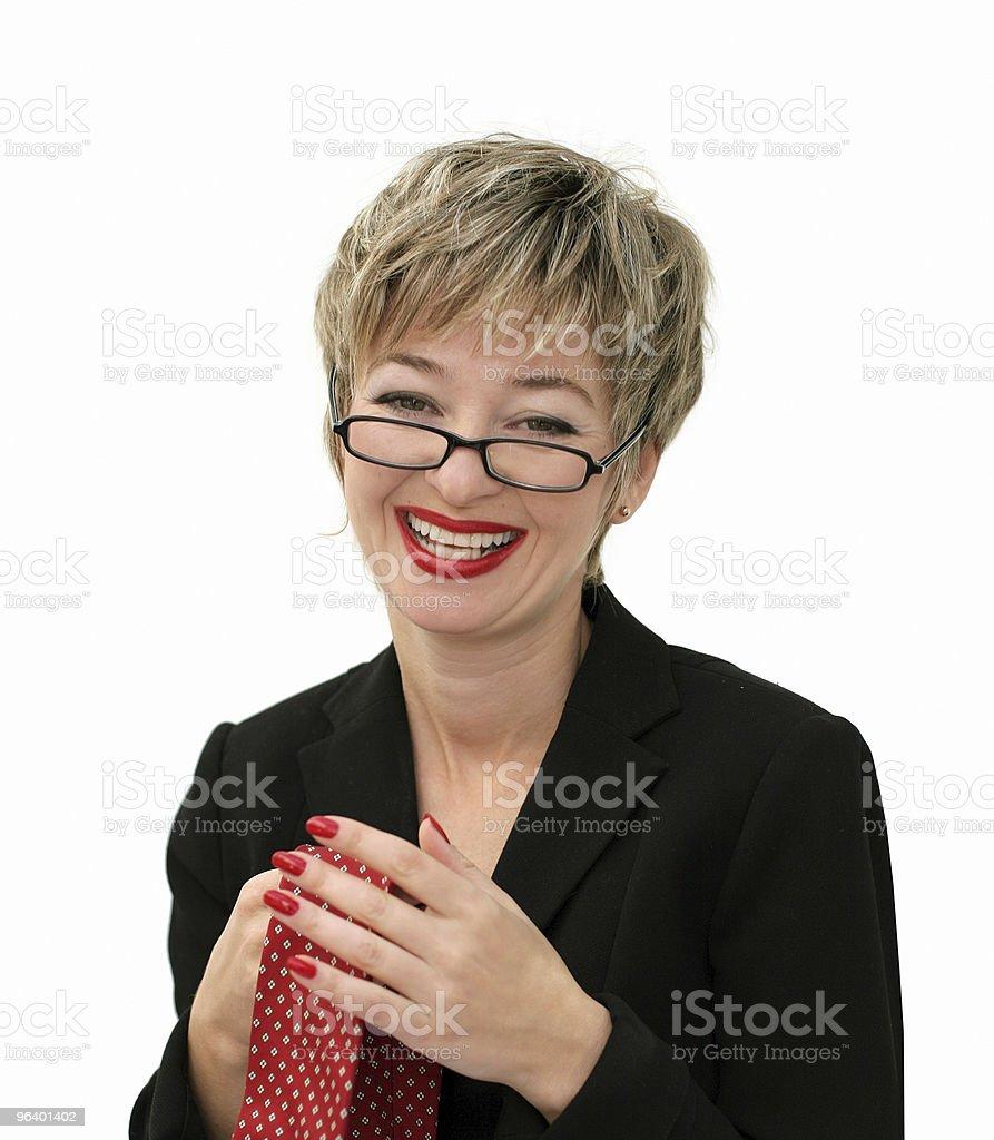 Smiling saleswoman - Royalty-free Adult Stock Photo