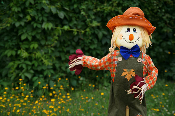 Smiling scarecrow  ventriloquist's dummy stock pictures, royalty-free photos & images
