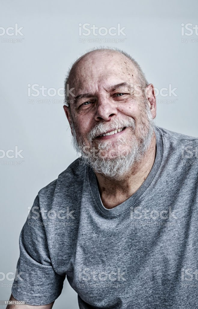 Smiling Senior Man Cancer Chemotherapy Patient Stock Photo Download Image Now Istock
