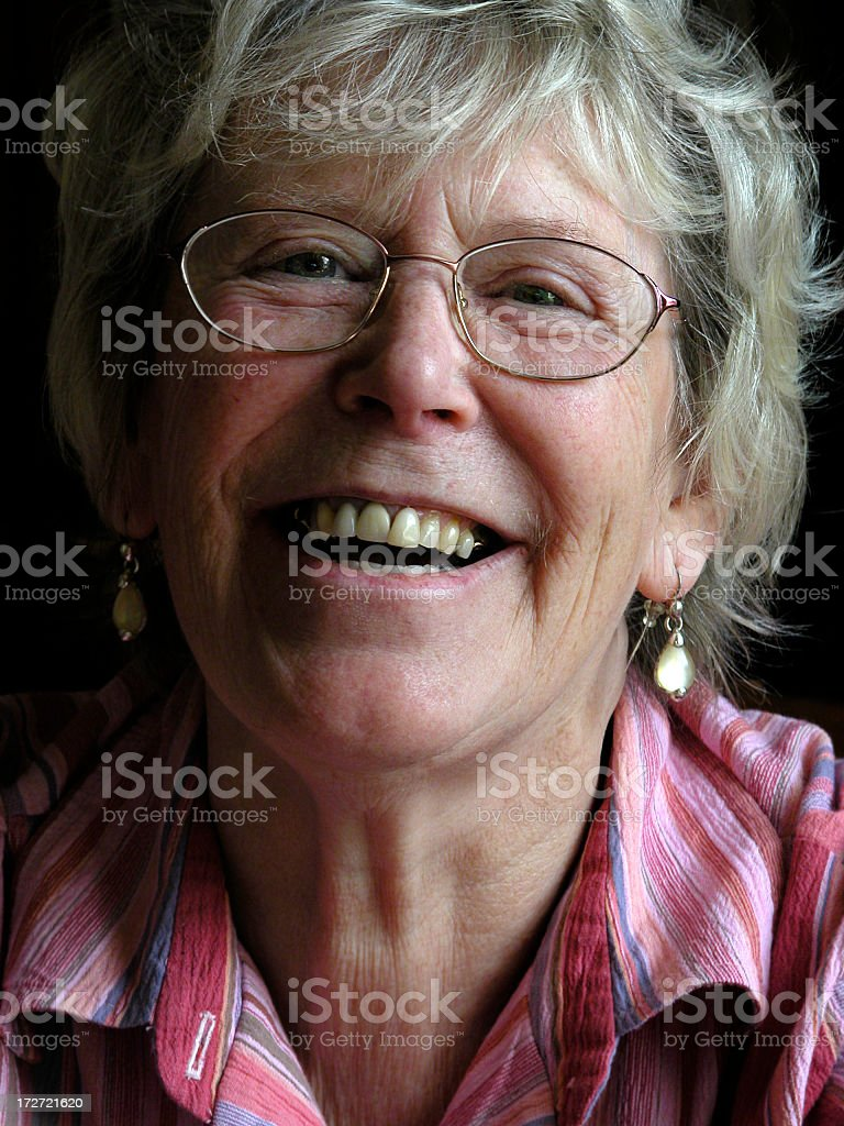 Smiling Senior Woman 2 stock photo