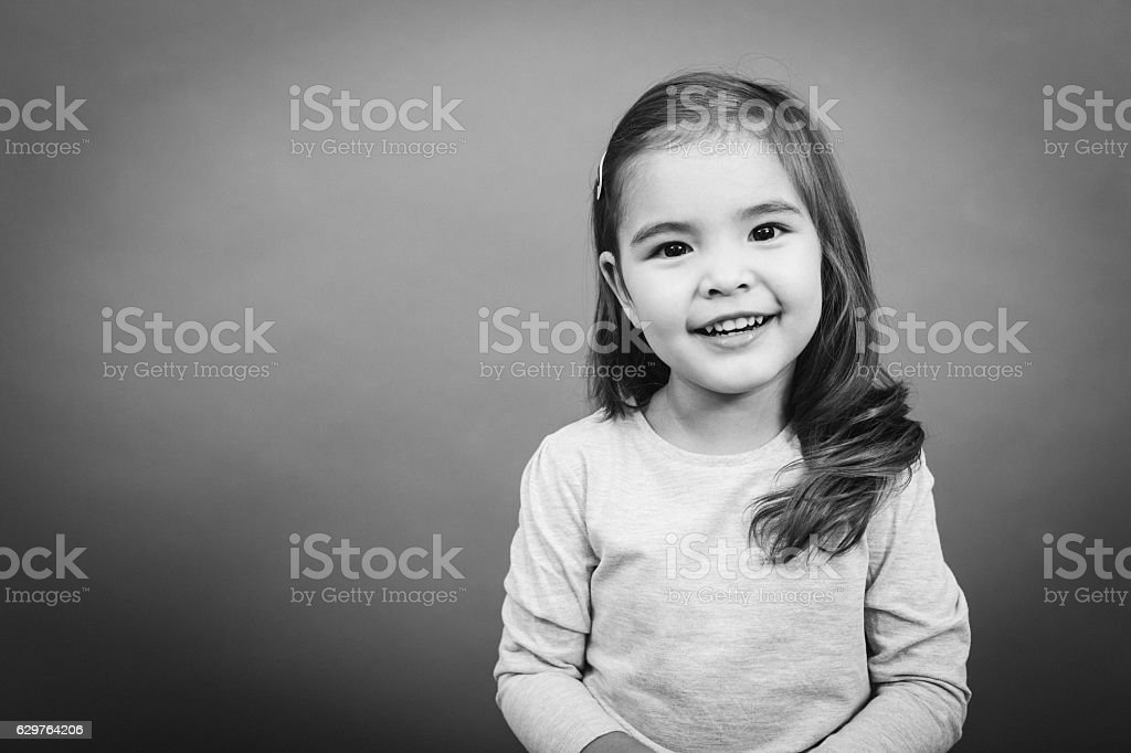 Smiling Small Girl​​​ foto