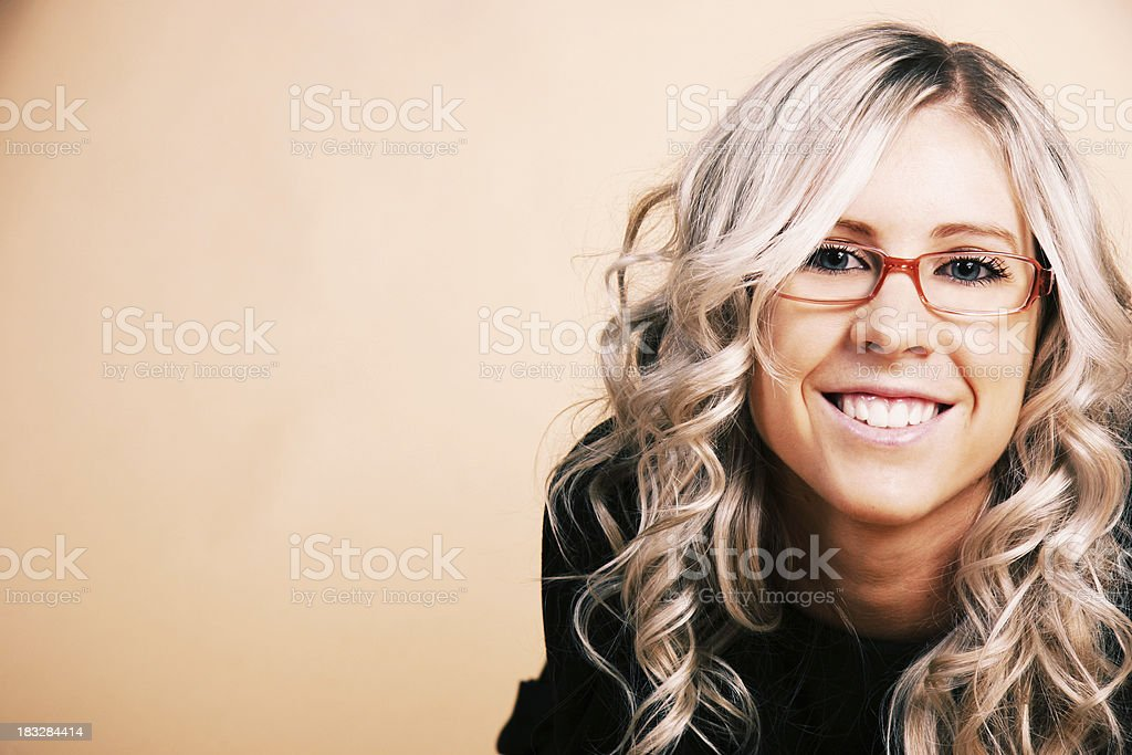 smiling student girl royalty-free stock photo