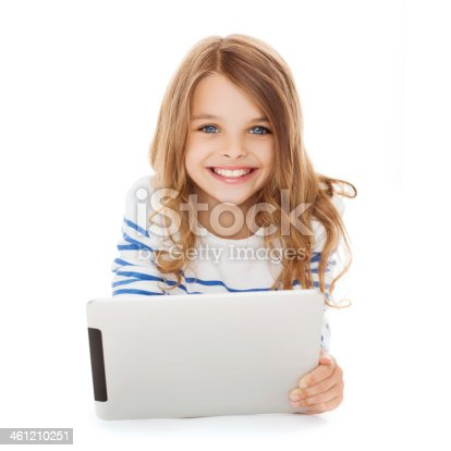 istock smiling student girl with tablet pc computer 461210251