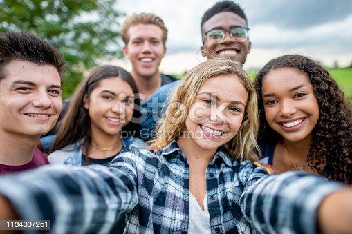 istock Smiling Teens 1134307251