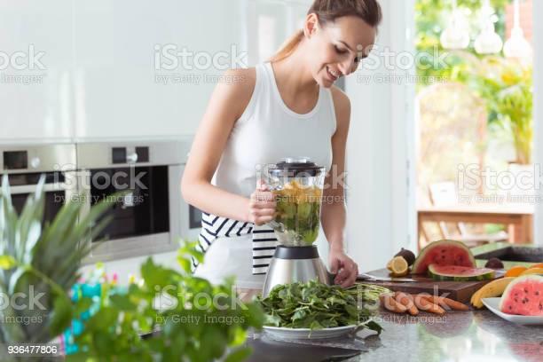 Smiling vegan woman making smoothie picture id936477806?b=1&k=6&m=936477806&s=612x612&h=jahhntqvcj2drnqt8zgod2ijgotrpdjtruj7fzrsbnu=