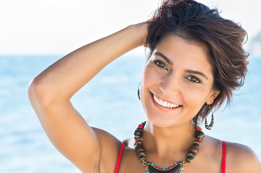istock Smiling Woman In Summertime 531537181