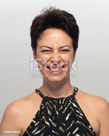 882495390 istock photo Smiling woman 1056359902