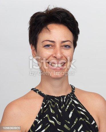 882495390 istock photo Smiling woman 1056360920